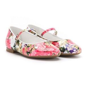 Dolce & Gabbana Kids Floral Shoes IT Sz 24